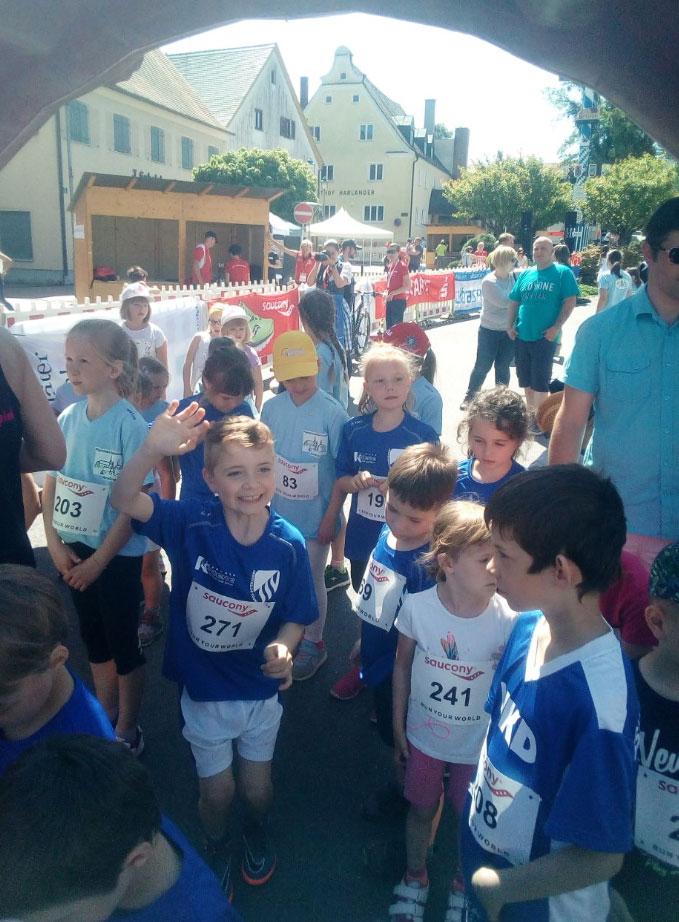 Sport-Fit-Gesund - SSV Alsmoos-Petersdorf: Aindling Marktlauf Kinder