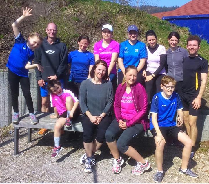 Sport-Fit-Gesund - SSV Alsmoos-Petersdorf: Frühjahrslauf Handzell
