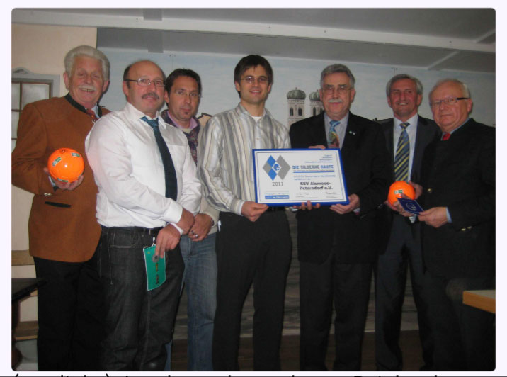 SSV Alsmoos Petersdorf Chronik: Silberne Raute BFV 2011