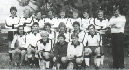TSV Alsmoos Chronik: Mannschaftsfoto Saison 1977/78