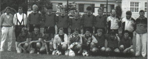 TSV Alsmoos Chronik: Mannschaftsfoto Saison 1987/88