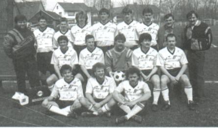 TSV Alsmoos Chronik: Mannschaftsfoto Saison 1992/93
