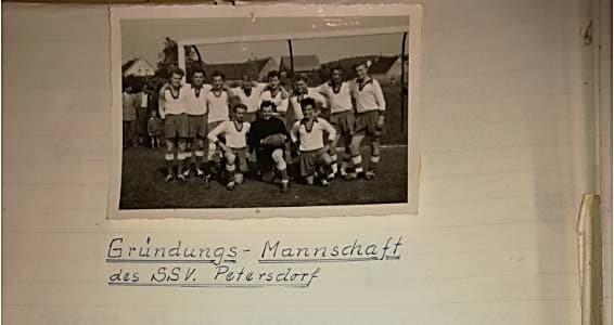 SSV Alsmoos Petersdorf Gründungsmannschaft